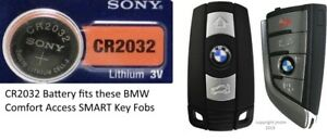 Smart Key Fob Remote Battery Cr2032 Fits Bmw Comfort Access Keyless Entry Start