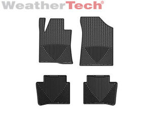 Weathertech All Weather Floor Mats For Nissan Altima 2013 2018 Black