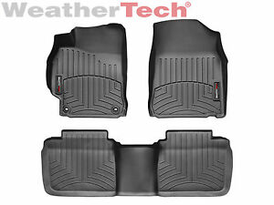 Weathertech Floorliner Mats For Toyota Camry 2012 2014 5 1st 2nd Row Black