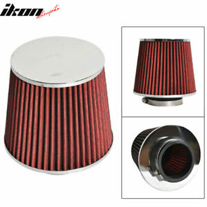 Fits 3 Inch Race Performance Cold Air Intake Cone Filter Red 88 01 Integra