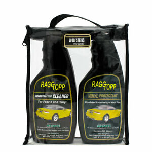 Raggtopp Vinyl Protectant Cleaner Kit Convertible Top Recommended Lincoln Ford