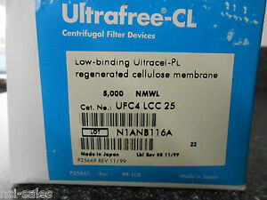 Lot Of 21 Amicon Ultrafree cl ufc4 Lcc 25 Centrifugal Filter Devices