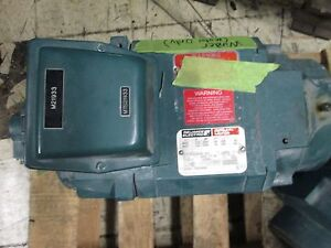 Reliance Rpm Ac Motor L0360a 7 5 Hp Used