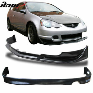 Fits 02 04 Acura Rsx Dc5 Mugen Pu Urethane Front rear Bumper Lip Spoiler Bodykit