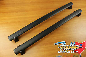 2011 2019 Jeep Grand Cherokee Removable Roof Rack Cross Rails Bars Mopar Oem