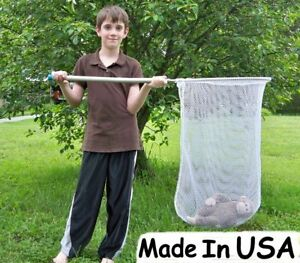 Dip Catch Net Replacement Net Fish poultry Minnow Seine Net Only No Frame