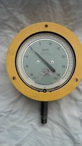 30 Psi Pressure vacuum Gauge By 3d Instruments Pn 25144 48b14 0 25 Accuracy