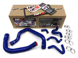 Hps Silicone Radiator Hose Kit For Ford 86 93 Mustang Gt Cobra Blue 87 88 89 90