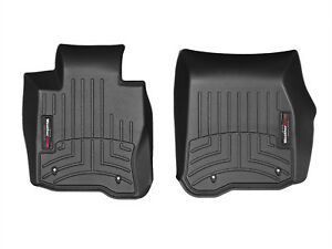 Weathertech Floorliner Mats For Bmw 4 series Xdrive 2014 2019 1st Row Black
