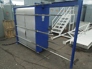 Meuller Accu therm Plate Heat Exchanger Model At80 B 20 Mfg Year 2000