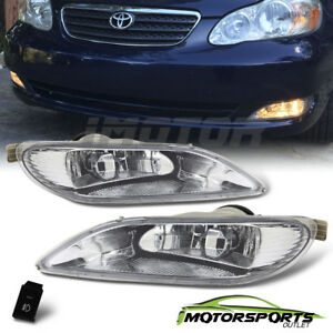 For 2002 2004 Toyota Camry 2005 2008 Corolla Bumper Fog Lights Switch