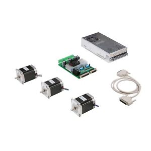 3 Axis Nema 23 Stepper Motor 270 Oz in Dual Shaft 3 axis Board Tb6560 Cnc Router