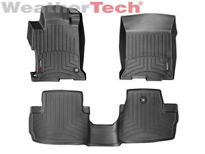 Weathertech Floor Mats Floorliner For Honda Accord Coupe 2013 2017 Black