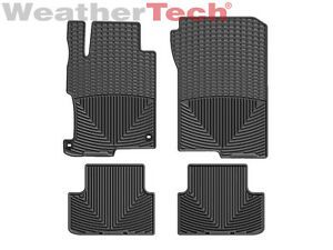 Weathertech All Weather Floor Mats For Honda Accord Coupe 2013 2017 Black