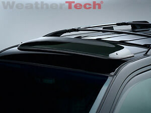 Weathertech No drill Sunroof Wind Deflector For Lexus Gx 2003 2014