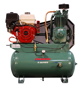 Champion Service Truck Air Compressor Hgr7 3h 13hp Honda Gas 23 2 Cfm 175psi