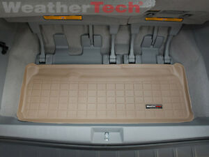 Weathertech Cargo Liner Trunk Mat For Toyota Sienna 2011 2019 Tan