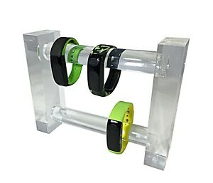 Black Acrylic Plexiglass Bracelet Watch Jewelry Stand Display 11620 14