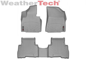 Weathertech Floor Mats Floorliner For Kia Sorento 2014 2015 Grey