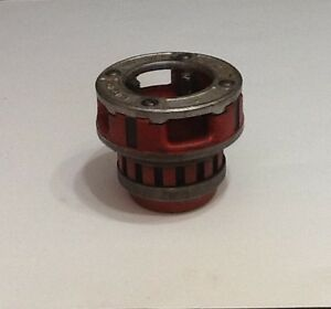 Ridgid 12r 2 Hand Ratchet Pipe Threader Die Head Complete Plumbing Tool