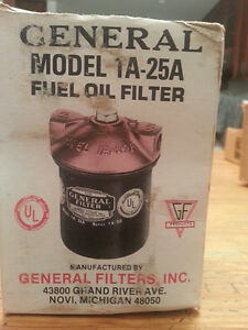 The General Filter 1a 25a Fuel Oil Filter New O s