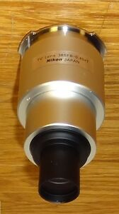 Nikon Microscope Eng Photo Camera Mount Adapter 0 45x For T2 Tube