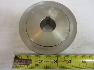 30l100 Stainless Steel Timing Pulley 1 Belt 1 Bore shaft