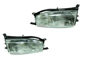 For 1992 1994 Toyota Camry Usa Built Head Lights Driver Passenger Side