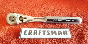 Craftsman 1 4 Drive Quick Release Ratchet 44807 New