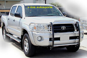 2005 2013 Toyota Tacoma Grill Guard Brush Guard Hpt Stainless Steel