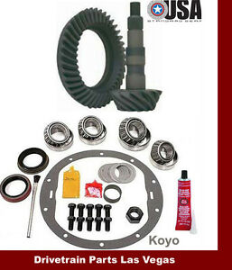 Usa Standard Ford 10 25 4 11 Ratio Gear Set Ring Pinion Master Install Kit Late