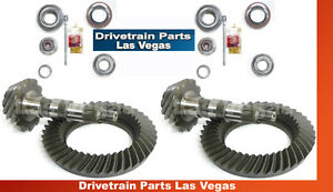 Dtplv Dana 35 30 Jeep Ring And Pinion Gear Set Pkg W Install Kits 4 56 Ratio
