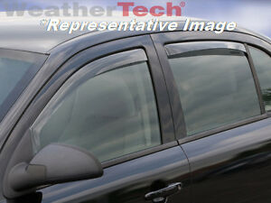 Weathertech Side Window Deflectors Ford Focus 2012 2016 Light Tint