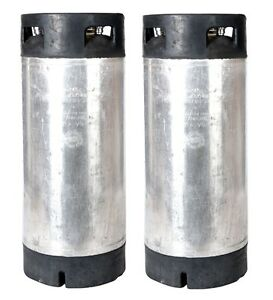5 Gallon Pin Lock Reconditioned corny Kegs Two Pack Homebrew Free Shipping