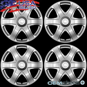 4 New Oem Silver 16 Hub Caps Fits 2009 Current Toyota Matrix Van Wheel Covers
