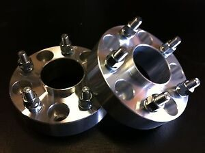 2 Ford Mustang Wheel Spacers Hub Centric 1 5 5x4 5 To 5x4 5 6061 T6 1994 2014