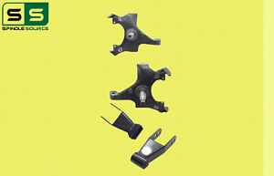 88 98 Chevy Gmc C15 C1500 C2500 2wd 2 Drop Lowering Spindles Shackles Kit