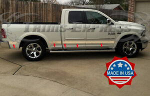 Fit 2009 2018 Dodge Ram Quad Cab 6 4 Short Bed W f Rocker Panel Trim Laramie U