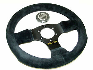 Sparco Steering Wheel P300 300mm Flat Suede