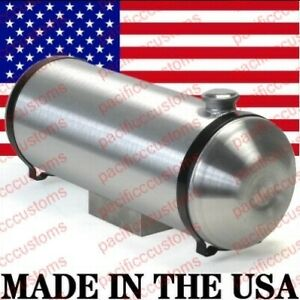 Spun Aluminum Fuel Tank With Sump For Fuel Injection 10 X 33 Inch End Fill