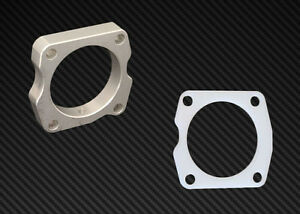 Ts Throttle Body Spacer Gasket Combo Silver Acura Tl 2004 2007