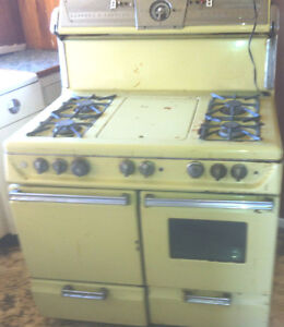 Antique 1940s Gaffers And Sattler Gas Stove