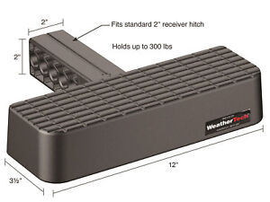 Weathertech Bumpstep 2 Receiver Hitch Step Bumper Protection Truck Suv