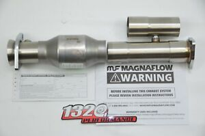 1320 Stainless Adjustable 2 5 Inch Magnaflow High Flow Catalytic Converter Cat