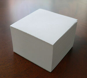 Note Paper Refill Cube Loose Sheets for Your Paper Holder 3 1 2 X 3 1 2