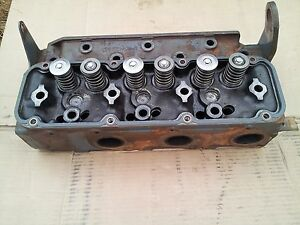 New Holland Skid Steer Oem Cylinder Head Assy 87801330 87802938
