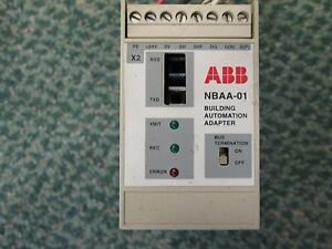 Abb Building Automation Adapter Nbaa 01 24vdc 3w Used