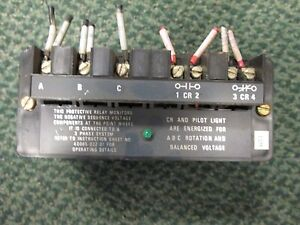 Allen bradley Line Voltage Monitor Relay 813s v0b 480v 60hz 3ph Used