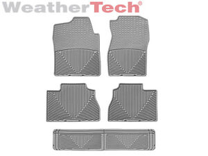 Weathertech All weather Floor Mats Gmc Yukon W 3rd Row 2007 2014 Grey