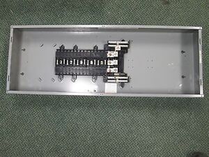 Square D Main Lug Circuit Breaker Panel Q0330l200g 200a Main Lug 30 Spaces 240v